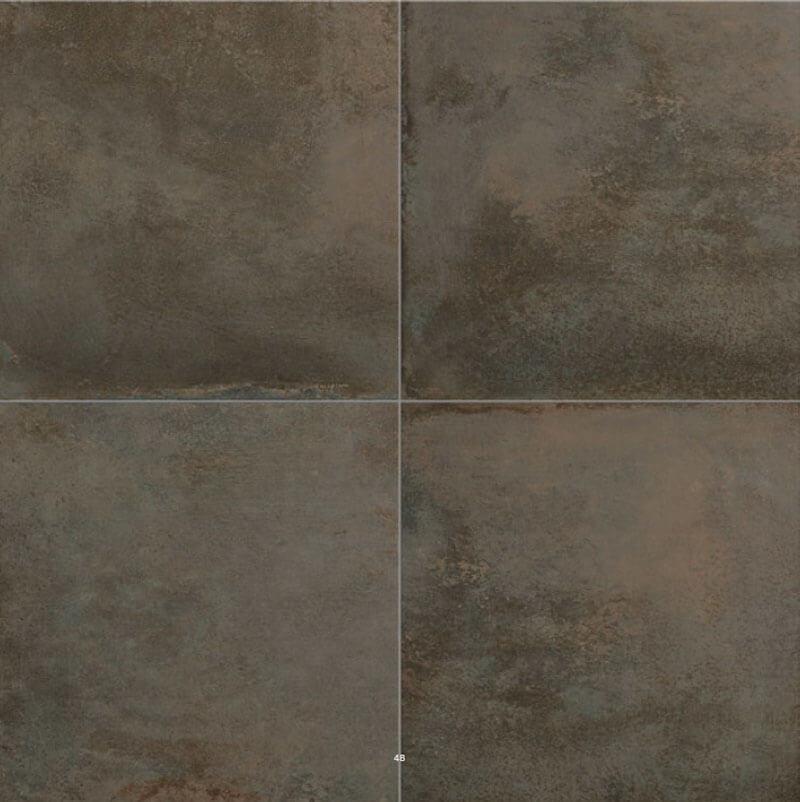 Metaal Look vloertegels - Temper Rust