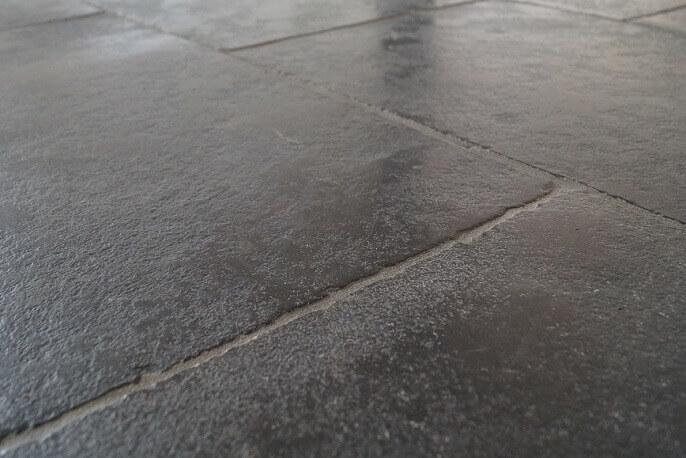 Zwarte Natuursteen Vloertegels.Castle Stone Zwart Vloertegels V A 23 95 P M2 Totaaltegel