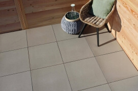 Terrastegels - Intensa Clay - Vlak