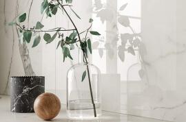 Marmerlook vloertegels - Vanity Bianco Statuario - Glossy