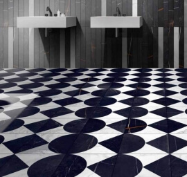 Portugese keramische wandtegels - Byron Mosaico F-B/W