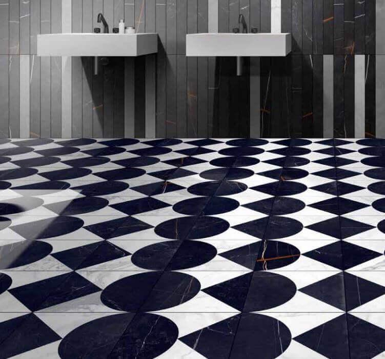 Tegels 30x30 - Byron Mosaico F-B/W