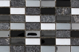 Glas Mozaiek - Class Negro