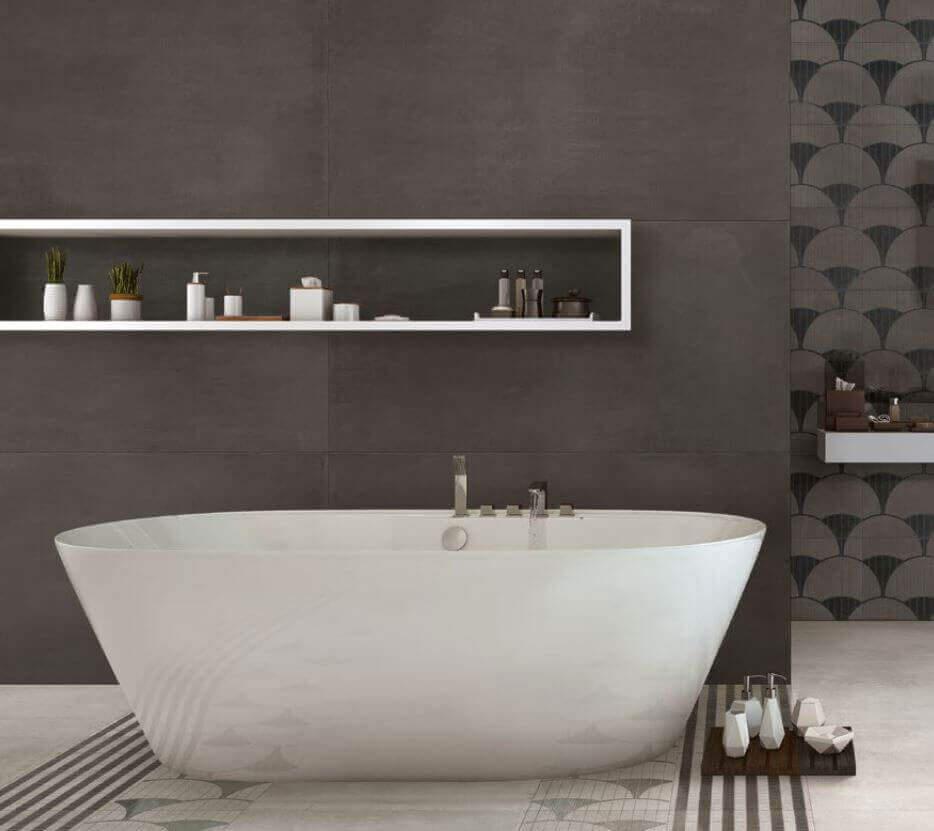 Tegels 100x100 - To Be Concrete Antracite