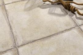 Kalksteen Look vloertegels - Naxos Esedra Pergamo (Binnen)