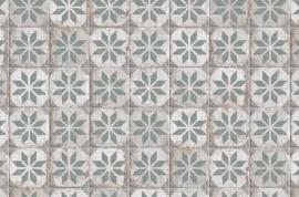 Portugese keramische wandtegels - Havana Floridata Verde