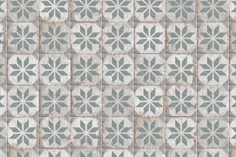 Wandtegels 20x20 - Havana Floridata Verde