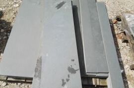 Terrastegels op kleur - Leisteen terrastegels 100x30 - Restpartij