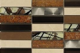 Glas Mozaiek - Artist Brown