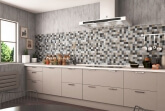 Glas Mozaiek - Elements Beige