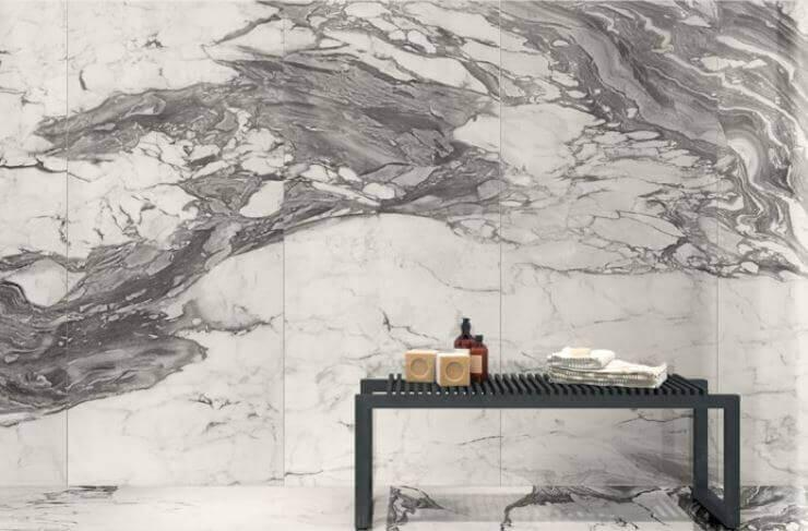 Tegels 100x100 - To Be Marble Renoir - Satin