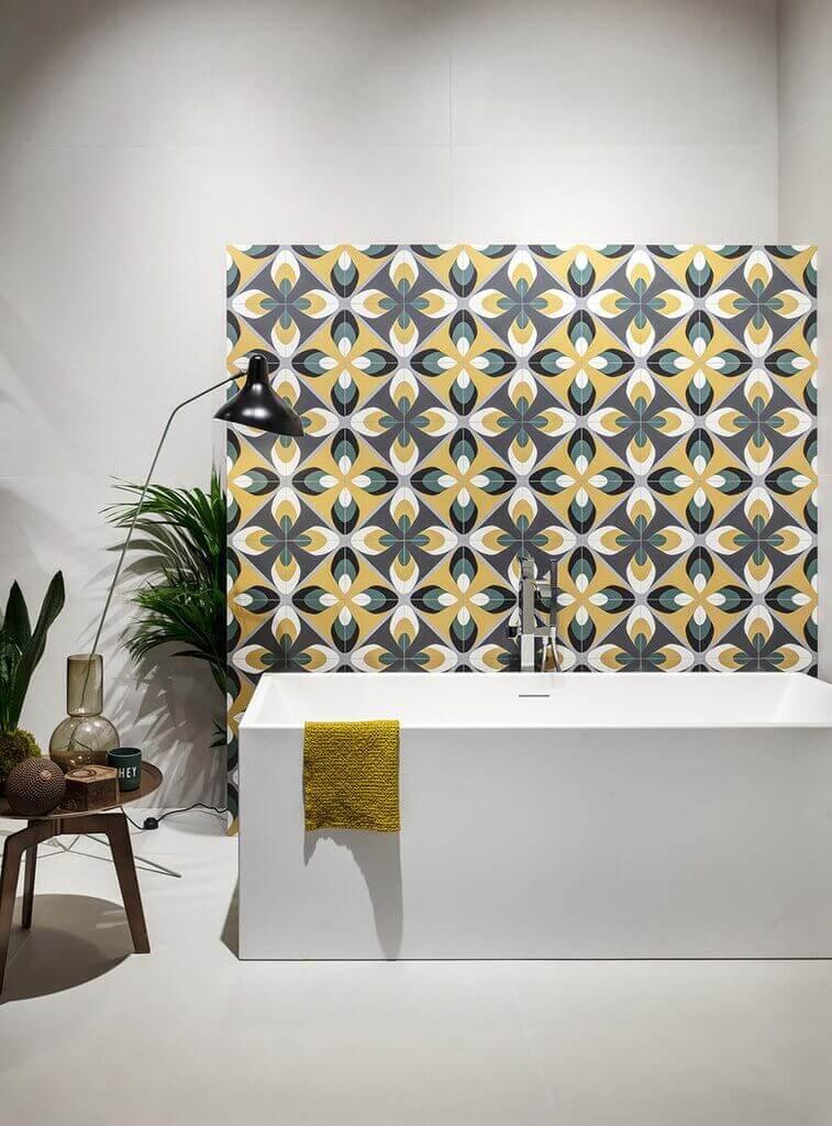 Wandtegels 120x120 - Insideart White
