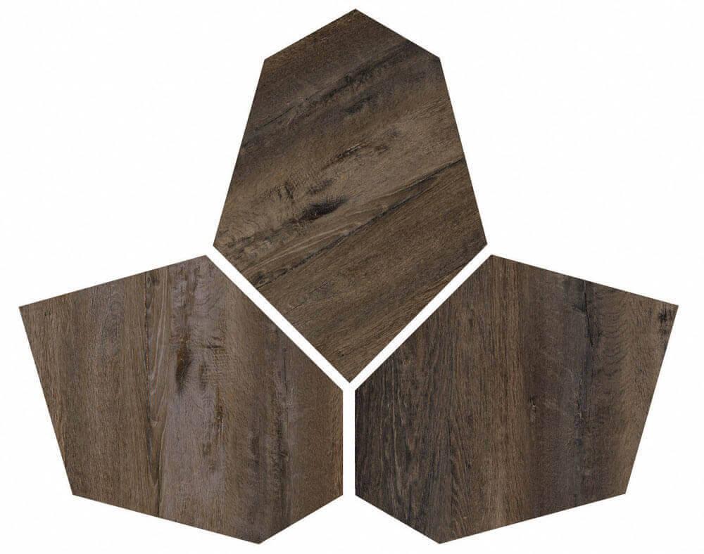 Wandtegels 40x40 - Kent Wengè - Esagona