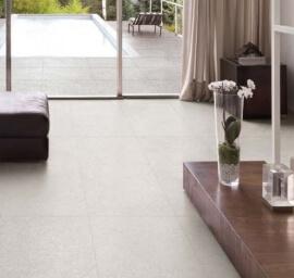 Vloertegels betonlook 30x60 cm - Grainstone Rough White - Grip