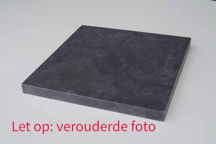 Paalmutsen - Hardsteen Paalmuts - Plat