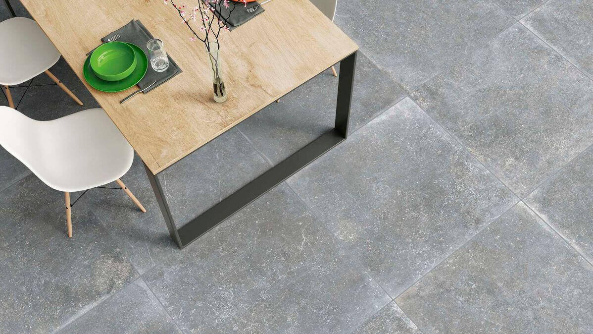 Hardsteen Look vloertegels - Berg Ash - Naturale