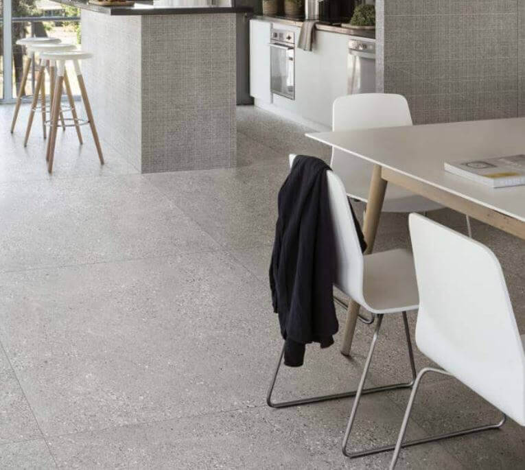 Wandtegels 45x90 - Grainstone Rough Grey - Naturale