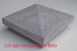 Paalmutsen - Hardsteen Design Paalmuts - Diamantkop