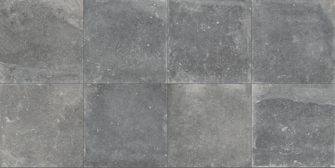 Wandtegels 100x100 - Evolution du Kronos Évo Gris Foncè