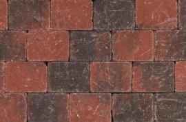 Tambour Rood-Zwart - Getrommeld