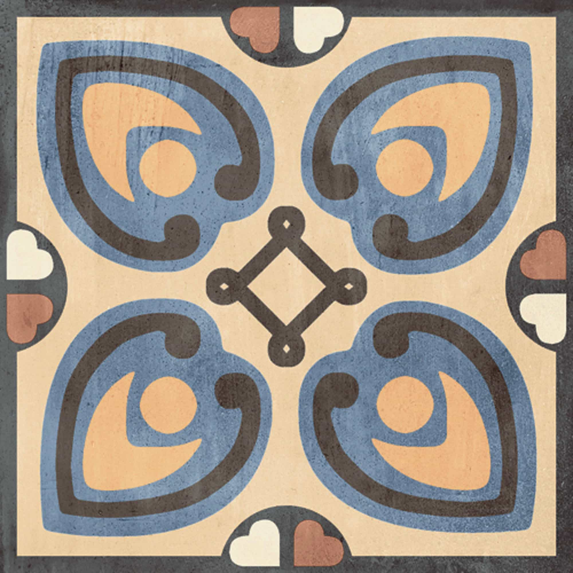 Vintage vloertegels - Patchwork Colors 02