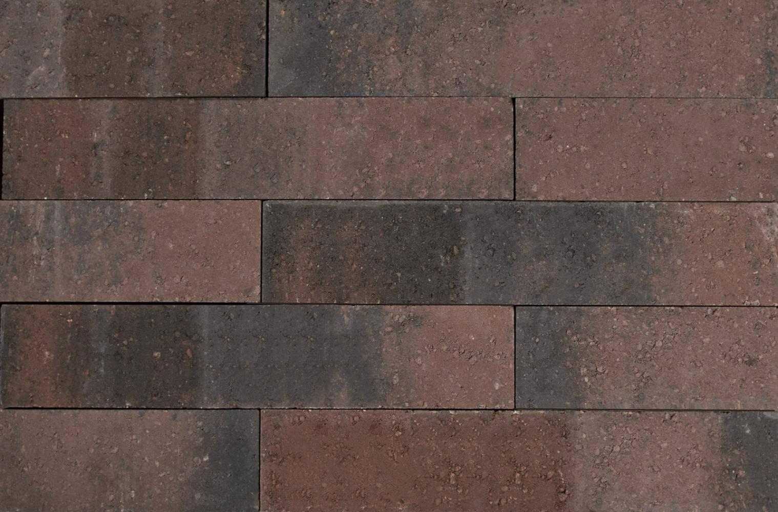 Stapelblokken - Wallblock New Brons