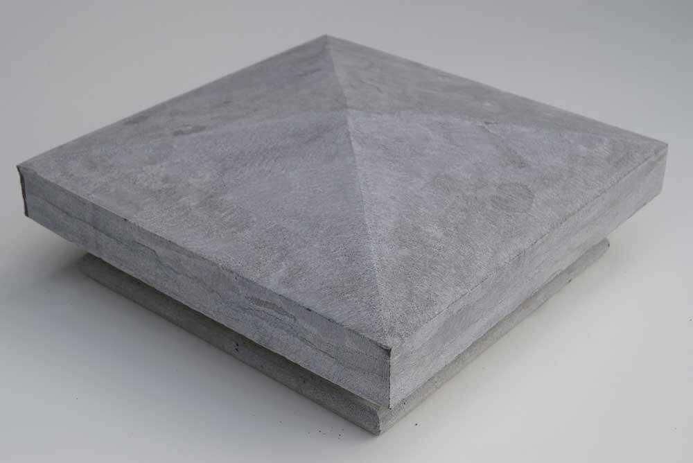 Paalmutsen - Chinese Hardsteen Design Paalmuts - Diamantkop