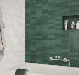 Wandtegels 7,5x30 - Safi Emerald