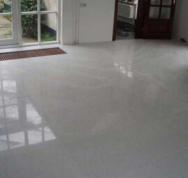 Witte Composiet wandtegels - Crystal White Composiet