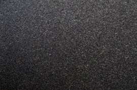 Absolute black Graniet - Leather Finish