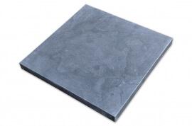 Chinees Hardsteen Paalmuts - Plat