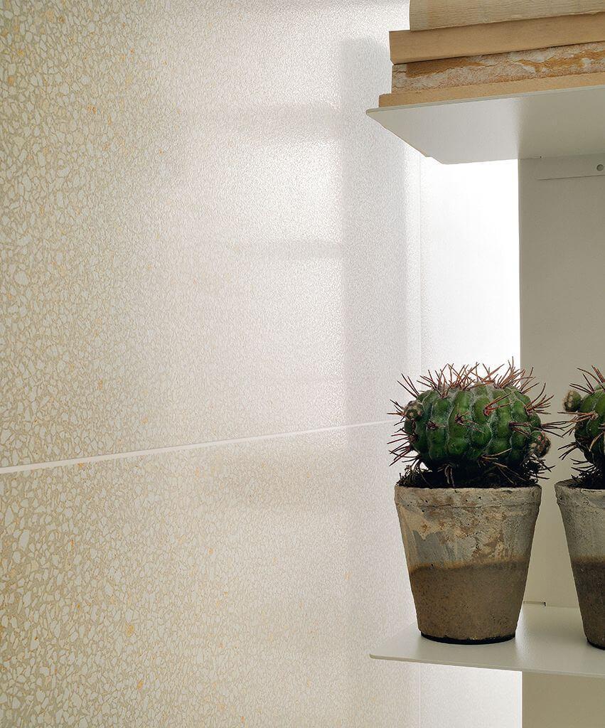 Wandtegels 30x30 - Terrazzo Caolino Mini