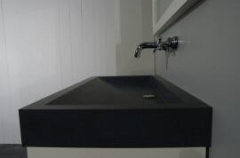Granieten Wasbak Type 1 - 120 cm