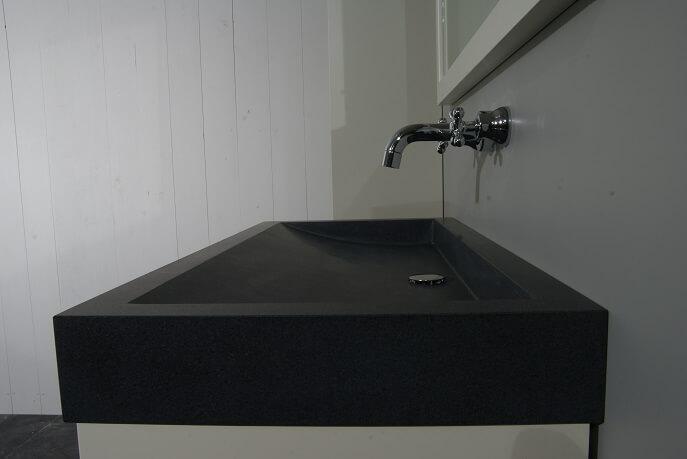Sanitair - Granieten Wasbak Type 1 - 120 cm