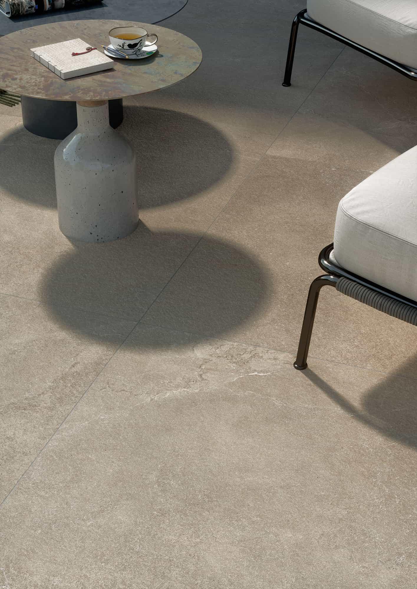 Terrastegels Travertin Look - Lithos Desert - Bocciardata