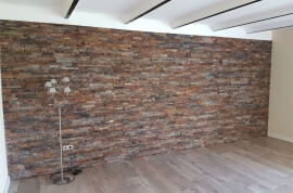 Muurbekleding - Leisteen Rusty Stone Panels Split Face