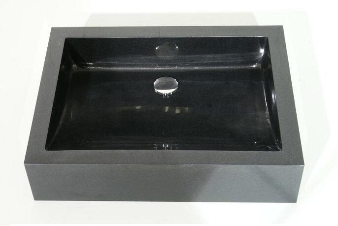 Natuursteen wastafels - Granieten Wasbak Type 3 - 60 cm