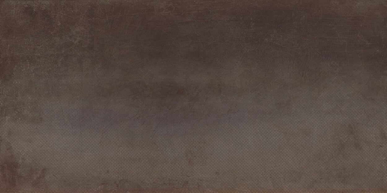 Bruine terrastegels - Cast Oxide Grid (Buiten)