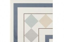 Tegels multicolor - Bistro 001 - Hoekstuk 20x20