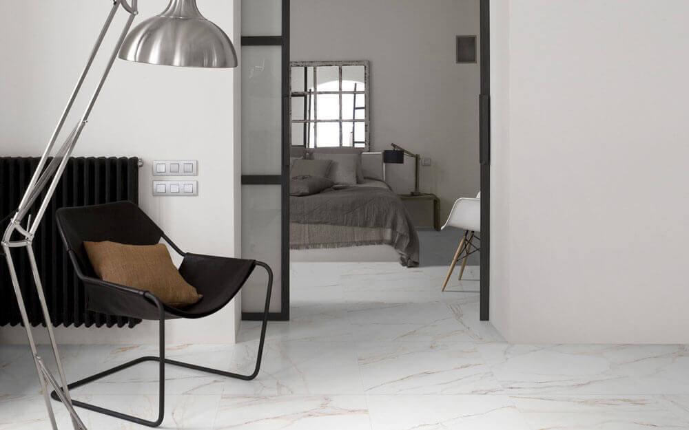 Vloertegels 6,5x33 - Cava Bianco - Satin