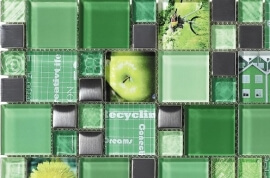 Mozaiek wandtegels - Inspiration Olive