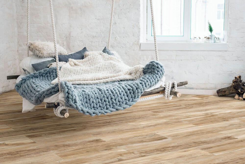 Vloertegels houtlook 30x120 cm - Blend Brown