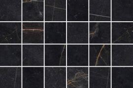 Antraciet vloertegels - Byron Marquinia mozaïek