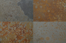 Terrastegels 80x80 - Leisteen Multicolor Brazil (Buiten)
