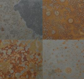 Leisteen terrastegels - Leisteen Multicolor Brazil (Buiten)
