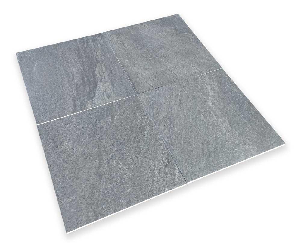 Keramische terrastegels - Slate Anthracite