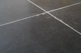 Natuursteen vloertegels - Nero Victorio Anticato