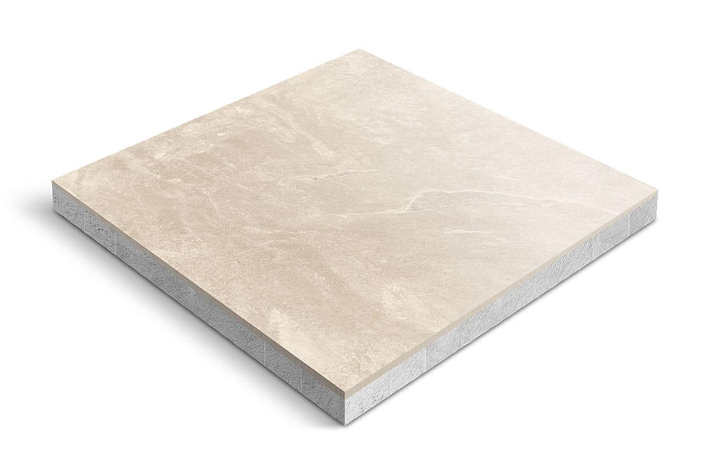 Keramiek op beton - CeraDeco Ardesia Caldo