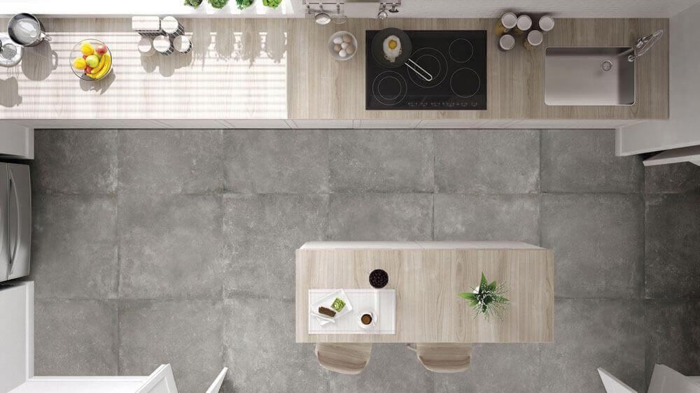 Vloertegels betonlook 80x80 cm - Dream Grey
