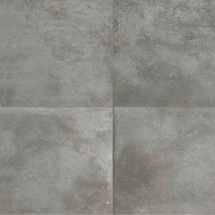 Metaal Look vloertegels - Temper Argent